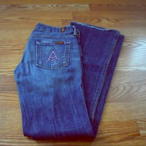 7 For All Mankind Bootcut Jeans 26